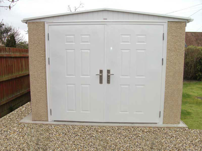 Fort Knox Doors | Leofric Buildings | Concrete Garages, Sheds ...