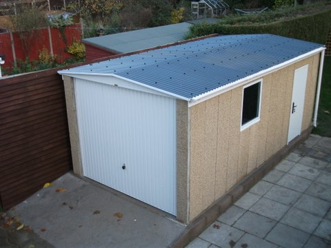 Concrete Garages From Leofric Building Systems Ltd