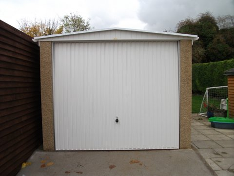 Fairford Concrete Garage