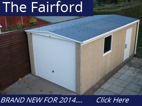 Flat Roof Concrete Garages