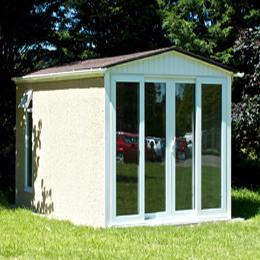 Concrete buildings from leofric building systems ltd for Garden rooms uk ltd